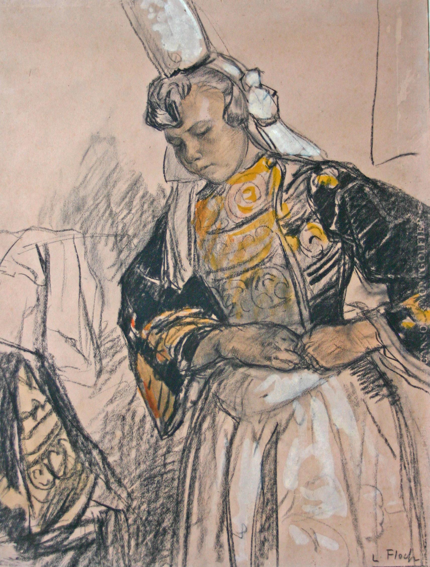 Lionel Floch Peintre Breton