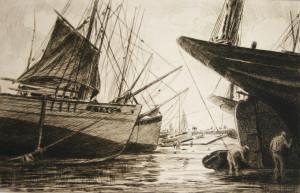 465-30-Thoniers à mer basse