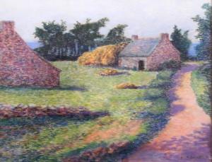 DELAVALLEE hameau près de Pont-Aven
