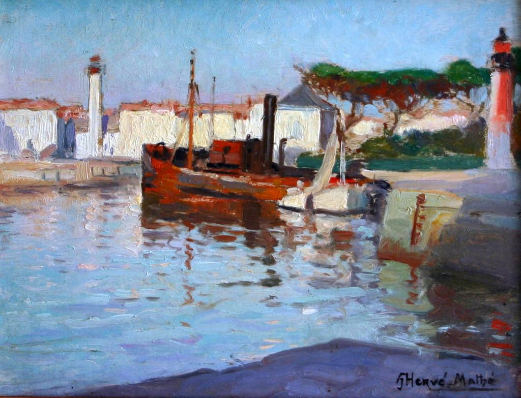 Jules Alfred Hervé-Mathé La Rochelle