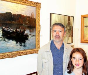 Pour la 11iA?me annA�e, la galerie Brugal ouvre ses portes jusqu'au 3 septembre sur une sA�lection de peintures et de dessins des A�coles bretonnes.