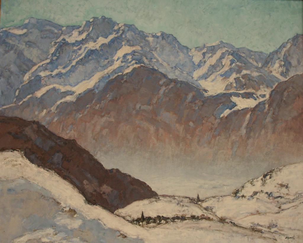 Georges Gobo montagne Alpe d'Huez