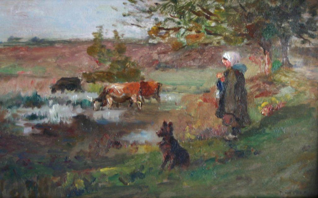 Paul Vayson peintre de Provence