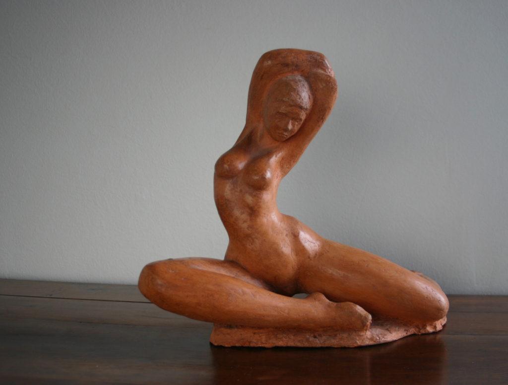 Jean Laniau sculpture terre cuite