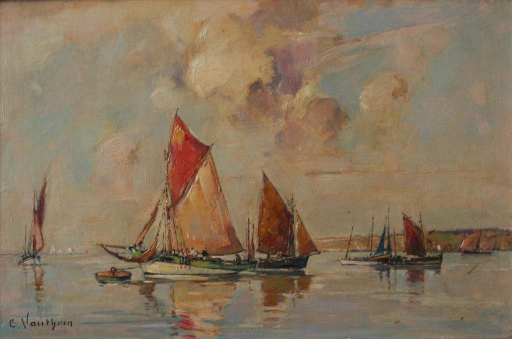 Ernest Vauthrin bateaux Concarneau