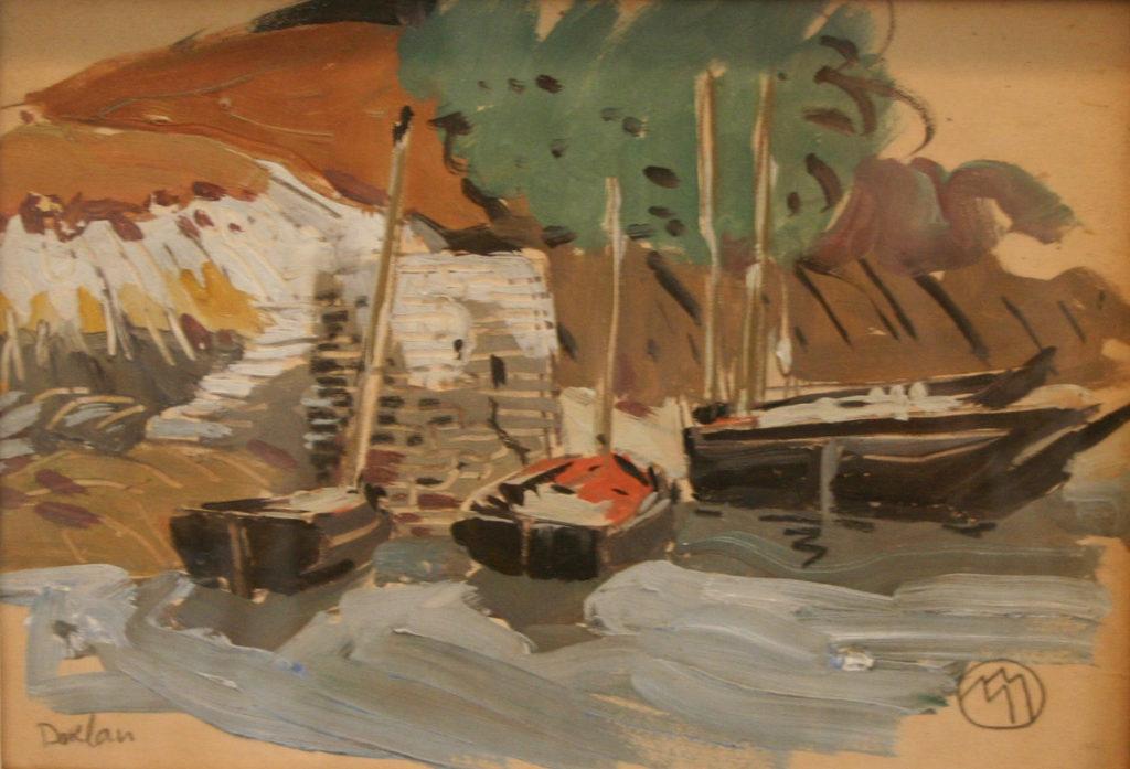 Mathurin Méheut Doëlan marine mer