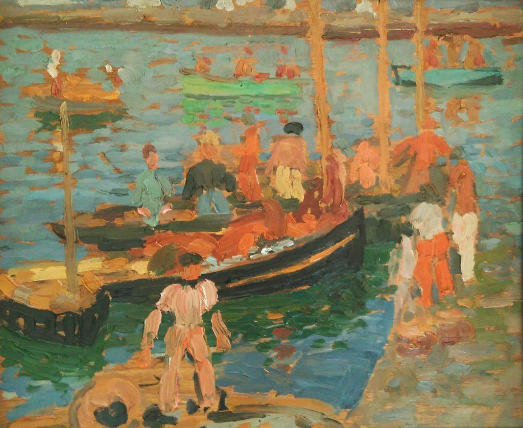 Jacques Martin Ferrières post impressionniste