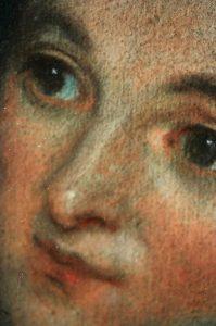 Pastel du 18ème siècle