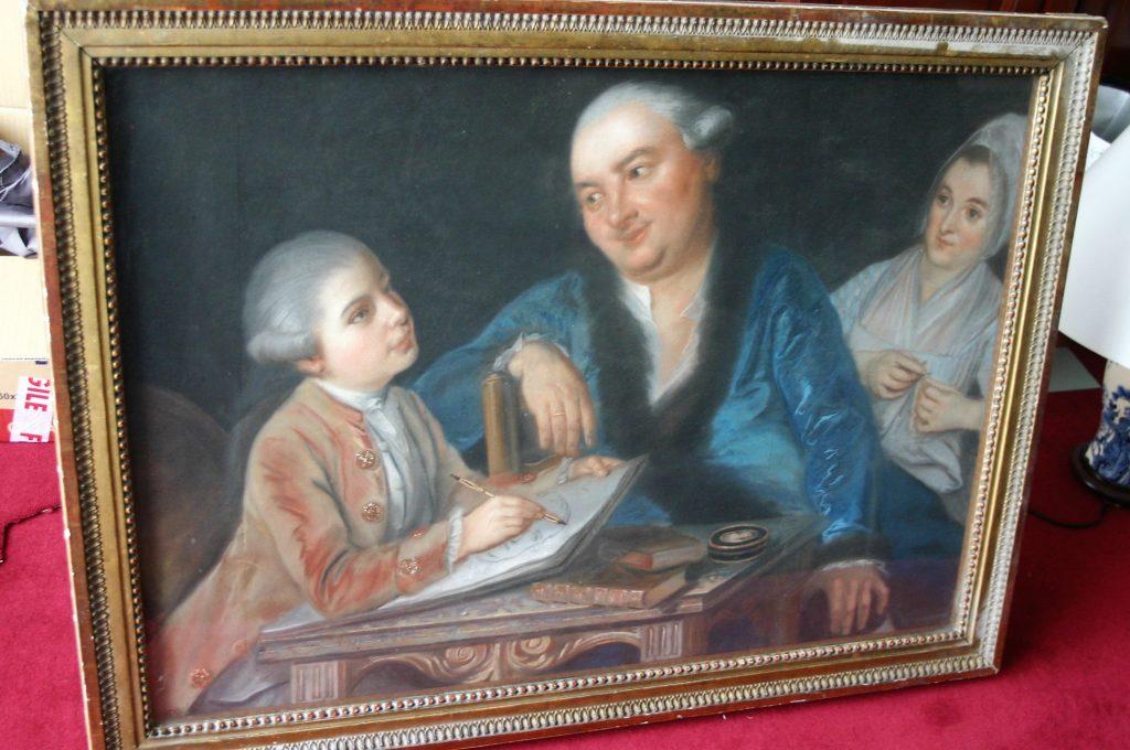Pastel du XVIIIème