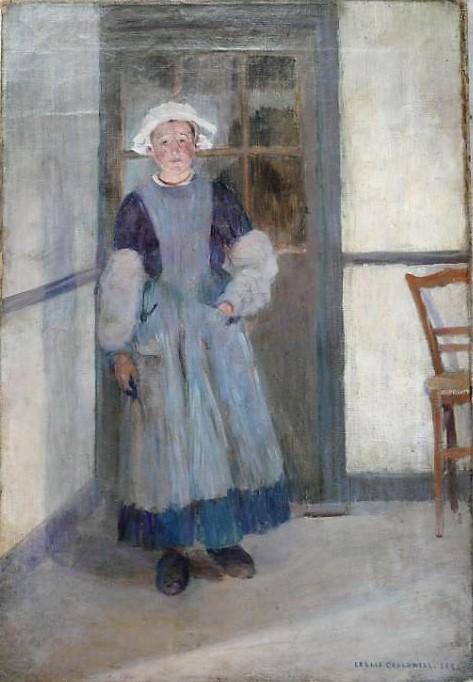 Leslie Cauldwell peintre américain