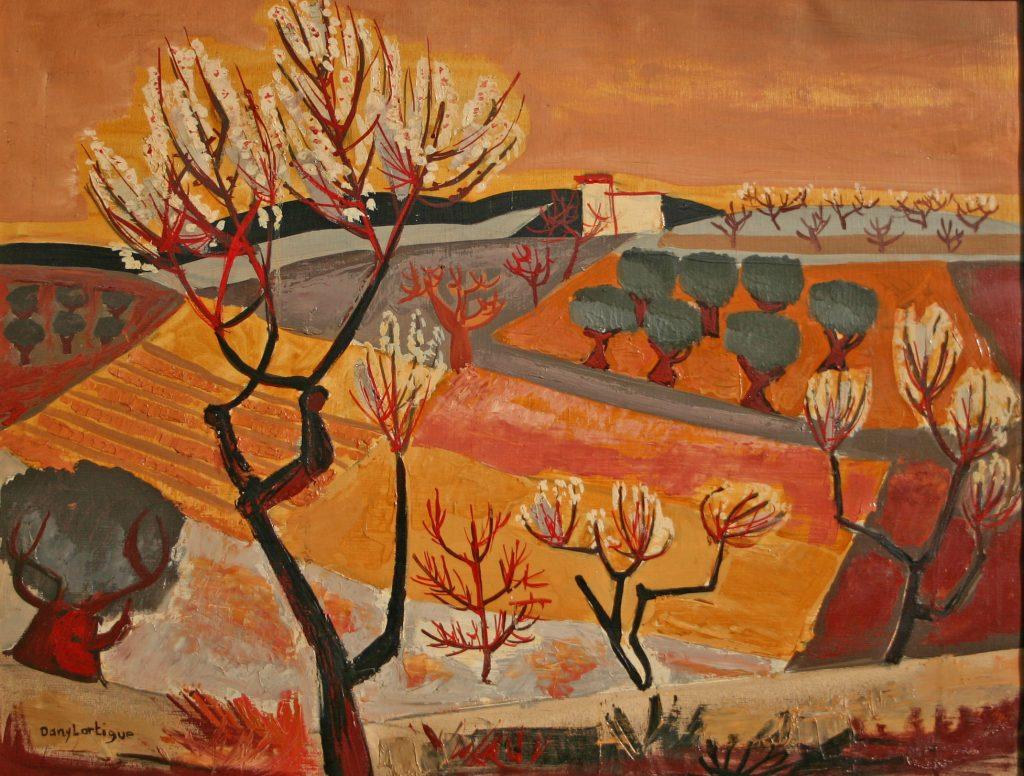 Daniel Lartigue Provence automne