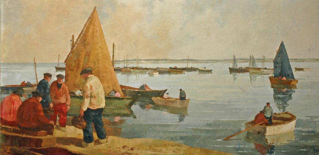 Yan Robert peintre de la marine