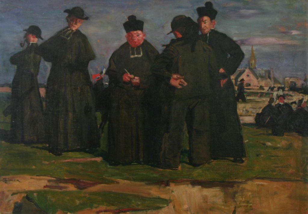 Simon Lucien assemblée de prêtres