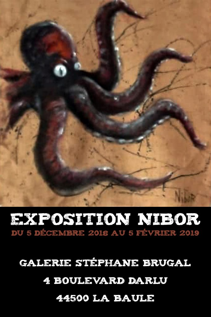 Nibor exposition galerie Brugal