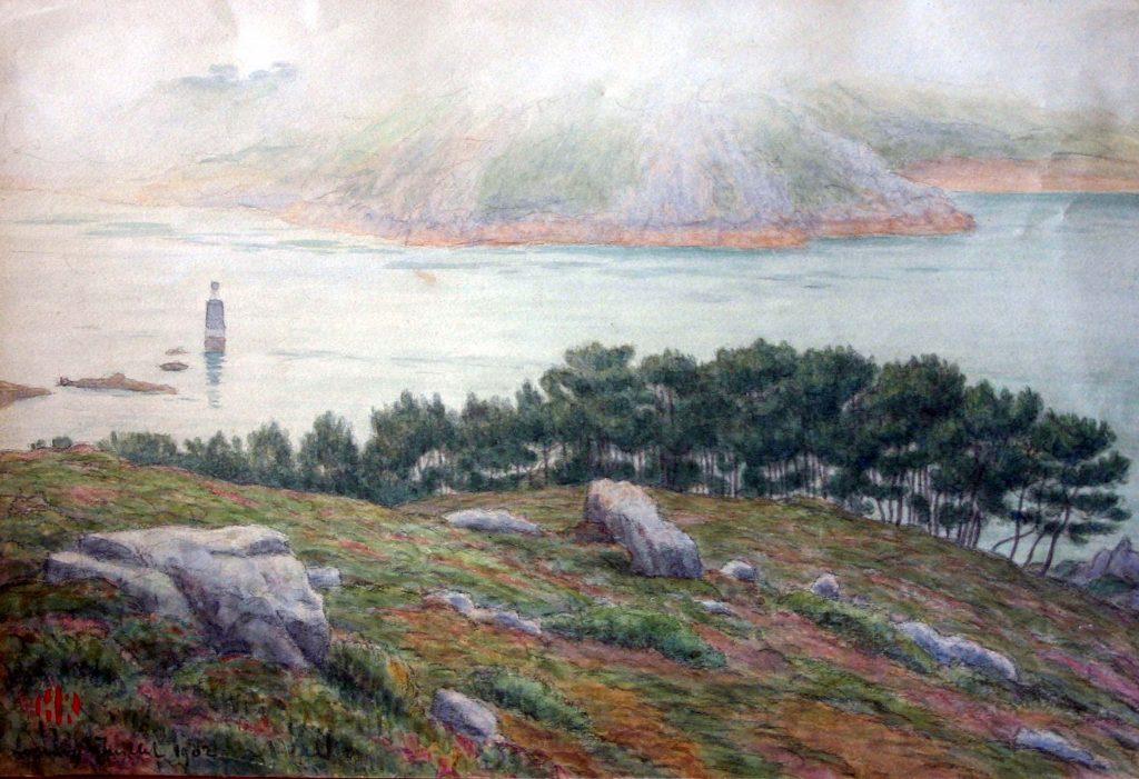 Henri Rivière Japonisme Loguivy de la mer