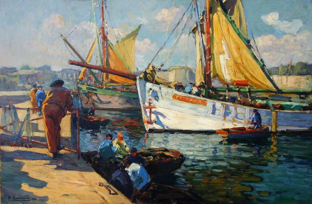 Henri Barnoin Concarneau postimpressionnisme