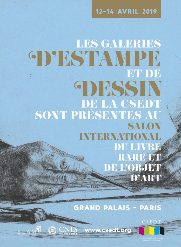 Salon du Dessin et de l'Estampe Grand Palais Paris