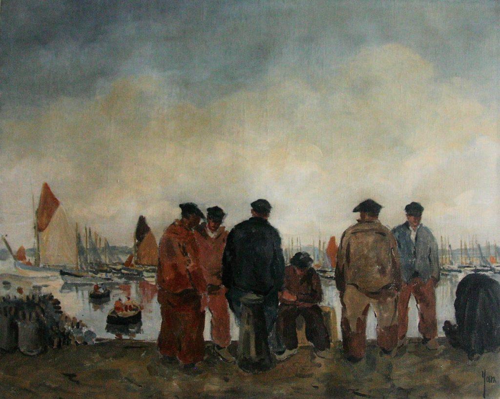 Robert Yan peintre breton de la marine