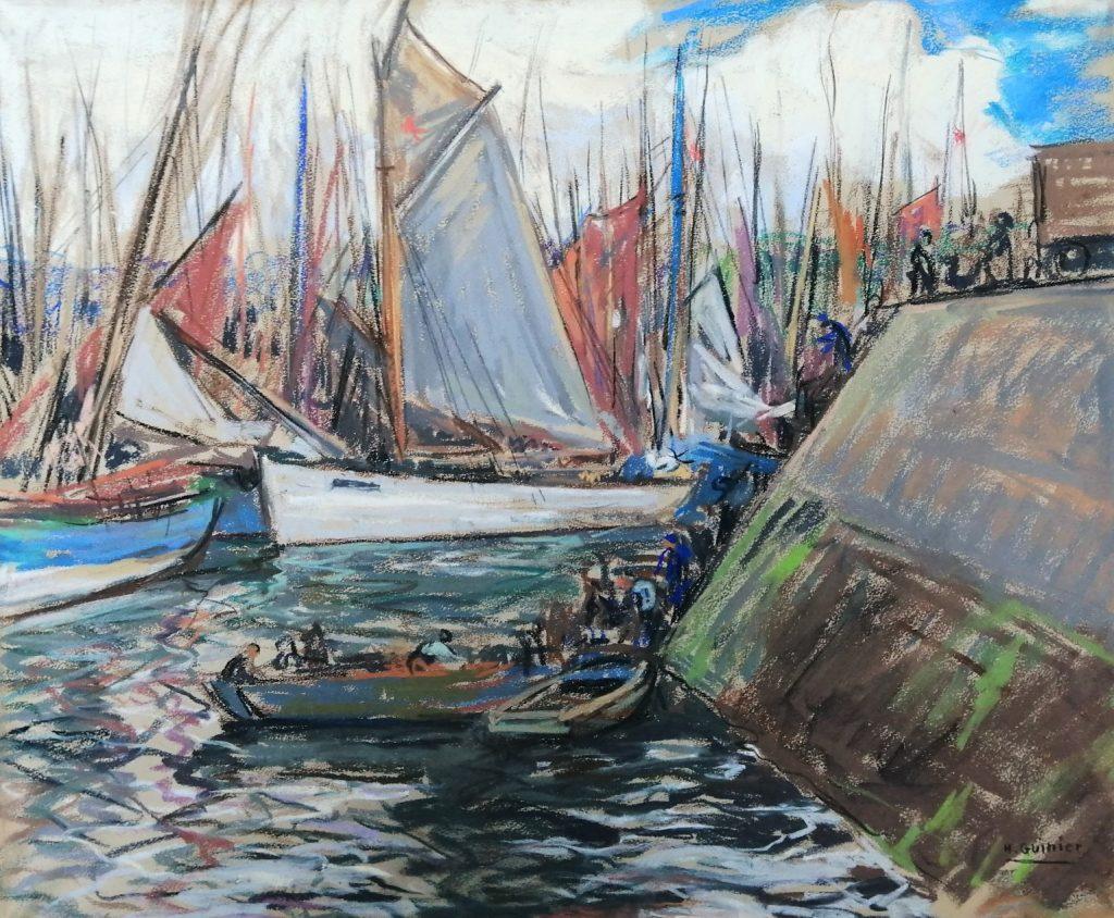 Guinier peintre breton Bretagne