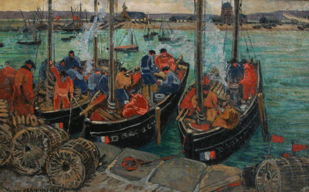 Jean Haffen pêcheurs en Finistère